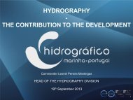 HYDROGRAPHY - THE CONTRIBUTION TO THE DEVELOPMENT