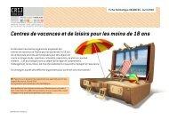 Fiche VACANCES (CVL) - Avril 2010.pdf - centre ressources ...