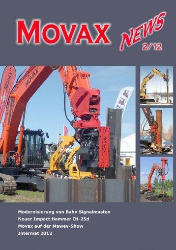 Modernisierung von Bahn Signalmasten Neuer Impact ... - Movax