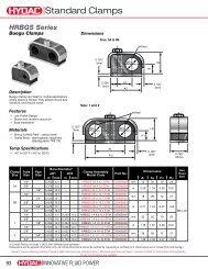 Download Buegu Clamps - HYDAC USA