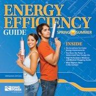 Idaho Power - Free Standing Insert - Spring/Summer 2013