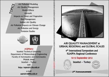 2nd Announcement AIR QUALITY MANAGEMENT at ... - EFCA
