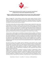 Comunicato Stampa (PDF) - Aefi