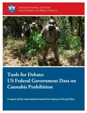Tools for Debate: US Federal Government Data on Cannabis ...