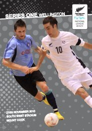 series one wellington series one wellington ... - Futsal4all - Futsal