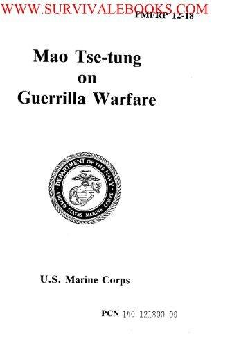 FMFRP 12-18 Mao Tse-tung on Guerrilla Warfare