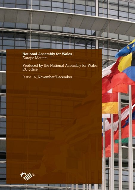 Europe Matters, Issue 16 - National Assembly for Wales