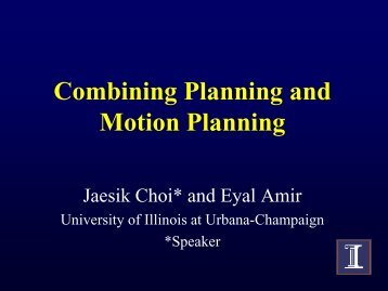 slides - University of Illinois at Urbana-Champaign
