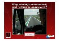 presentatie - Verkeerskunde