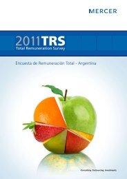 Encuesta de Remuneración Total - Argentina - iMercer.com