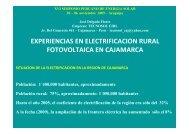 Presentación - Asociación Peruana de Energía Solar y del Ambiente