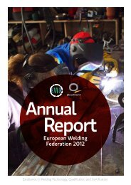 European Welding Federation 2012 - EWF
