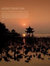 Silversea's World cruise & Grand Voyages 2014 - Cruise NORWAY ...