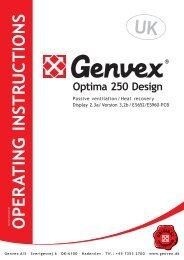Optima 250 Design - Genvex