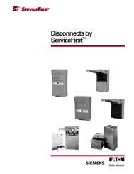 Disconnects by ServiceFirst™ - ServiPartes