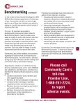 Provider Newsletter January 2012 - Community Care Behavioral ... - Page 5