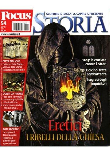 Focus Storia 54, aprile 2011 - lasapienzatojericho.it