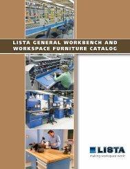 lista general workbench and workspace furniture catalog