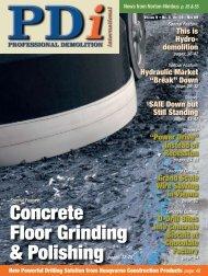 Concrete Floor Grinding & Polishing pages: 12-25 - Pdworld.com