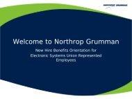 Welcome to Northrop Grumman - Benefits Online