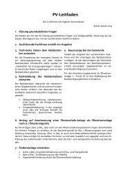 PV-Leitfaden aktualisiert - bei der AEE Salzburg