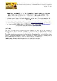 percepção ambiental de donas de casa de guamaré/rn quanto a ...