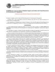 Estatuto Orgánico del Instituto del Fondo Nacional de la Vivienda ...