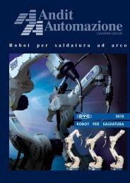 ROBOT PER SALDATURA 2010 - Andit Automazione Spa