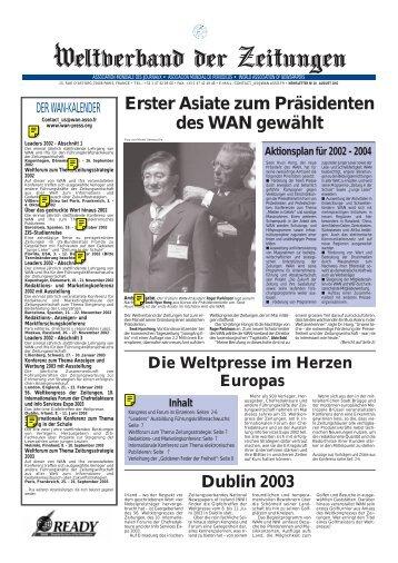 WAN 21 aleman - World Association of Newspapers