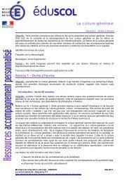 Organiser les recherches - Ministère de l'Éducation nationale