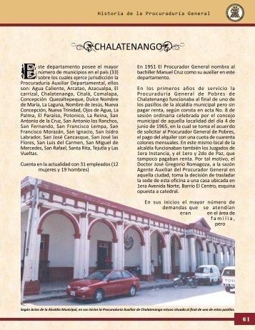chalatenango - Procuraduría General de la República de El Salvador