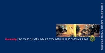 blaue Rainbow-Preislisten - Sonnenalp