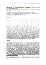 La Red de Formación Ambiental - Cub@: Medio Ambiente y ...