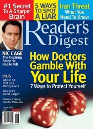 Readers Digest - August 2006 - English Language Learning