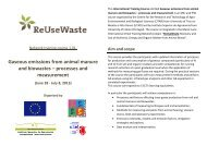 Gaseous emissions from animal manure and biowastes ... - Utad