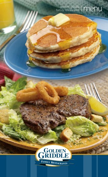 golden griddle family restaurants - MainMenus.com
