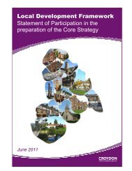 Local Development Framework Statement of ... - Croydon Council
