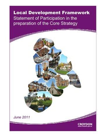 Local Development Framework Statement of ... - Croydon Council