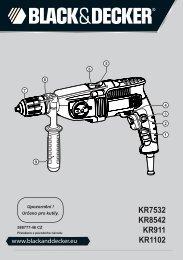 Návod k použití KR8542K