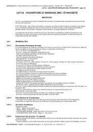 DCE 03 COUVERTURE ZINC ETANCHEITE.pdf - Commune de ...