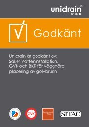 Ladda hem Unidrain Quick Guide, 1003 - Gelia