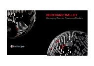 BERTRAND MALLET - Inchcape