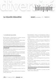 bibliographie - CNDP