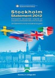 Dichiarazione internazionale congiunta per una politica ... - CesDop