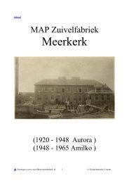 MEERKERK - Zuivelhistorie Nederland