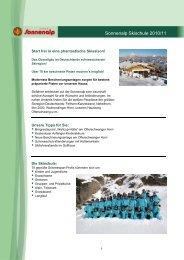 Sonnenalp Skischule 2010/11
