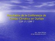 Presentación de Arq. Jorge Patrone - Centro Coordinador de ...
