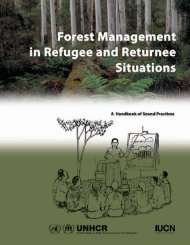 Forest Management in Refugee and Returnee Situations