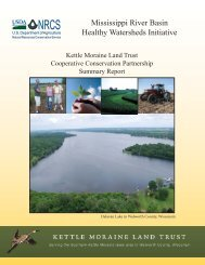 Cooperative Conservation Partnership Summary Report - Natural ...