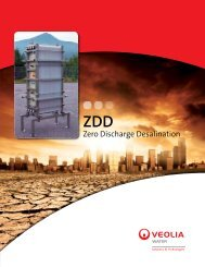 Zero Discharge Desalination - Veolia Water Solutions & Technologies